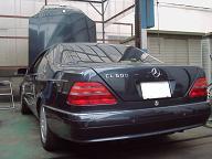 ベンツCL600 W140