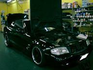 ベンツSL500(W129)