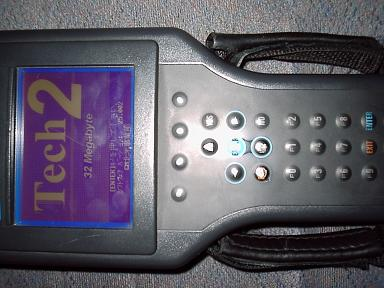 Tech2 GMテスター