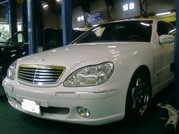 ベンツ S500 W220