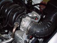 300Cのエンジンルーム