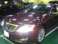 ベンツS550(W221)