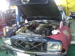 ベンツ500SL(107)