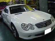 ベンツSL500