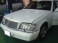 ベンツS500(W140)