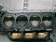 S55のシリンダーヘッド