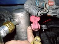 ガス漏れ箇所