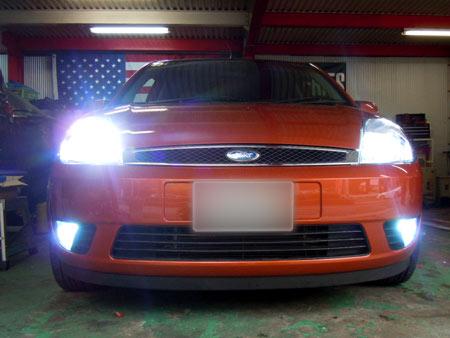 フォード フィエスタ 中古車 販売 アメ車 専門店 大阪 ガレージアクト HID LED
